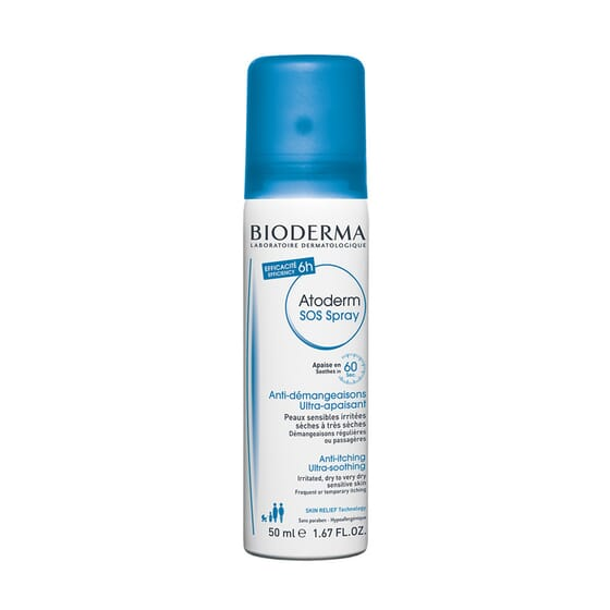 Atoderm Sos Spray Anti Prurito 50 ml de Bioderma