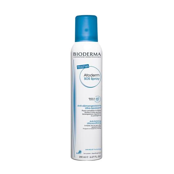 Atoderm Sos Spray Anti Prurito 200 ml de Bioderma