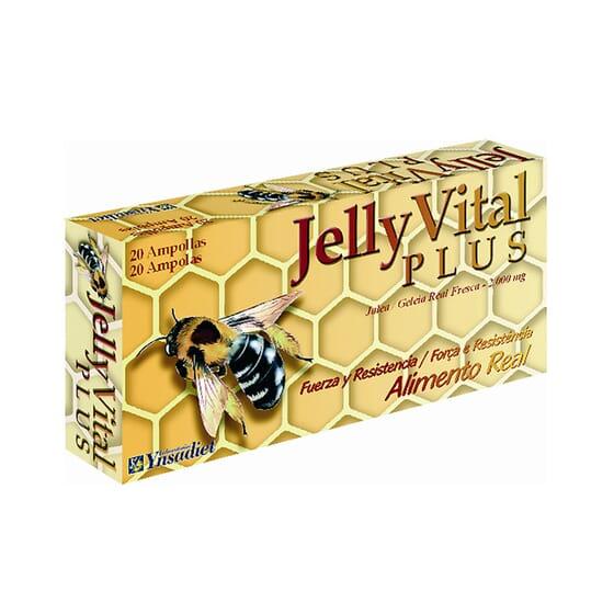 JELLY VITAL PLUS 20 Ampollas de 10ml de Ynsadiet
