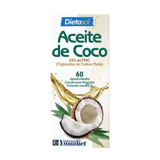 ACEITE DE COCO 60 Caps de Ynsadiet