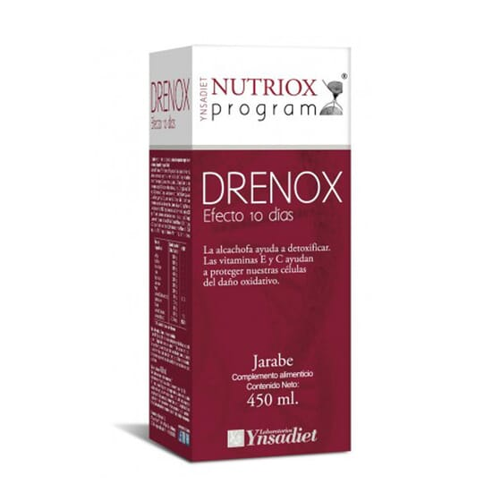 Nutriox Program Drenox Xarope 450 ml da Ynsadiet