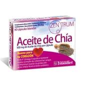 ZENTRUM ACEITE DE CHÍA 60 Perlas de Ynsadiet