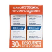 MELASCREEN UV CREMA LIGERA SPF50+ PACK 2ª UD 30% DTO 2 x 40ml de Ducray