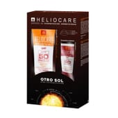 Heliocare Confezione Advanced Gel 200 ml + Ultra Gel SPF90 25 ml 1 Confezione di Heliocare