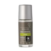 Urtekram Déodorant Deo Crystal Citron Vert Roll-On 50 ml - Biologique