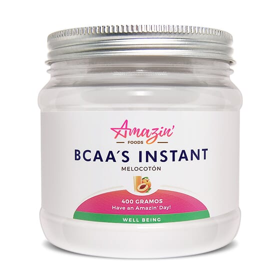 BCAA'S INSTANT 400g da Amazin' Foods