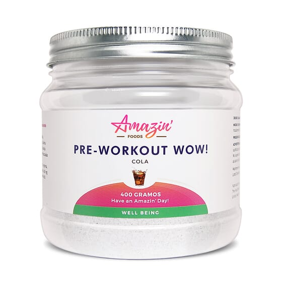 PRE-WORKOUT WOW! 400g de Amazin' Foods