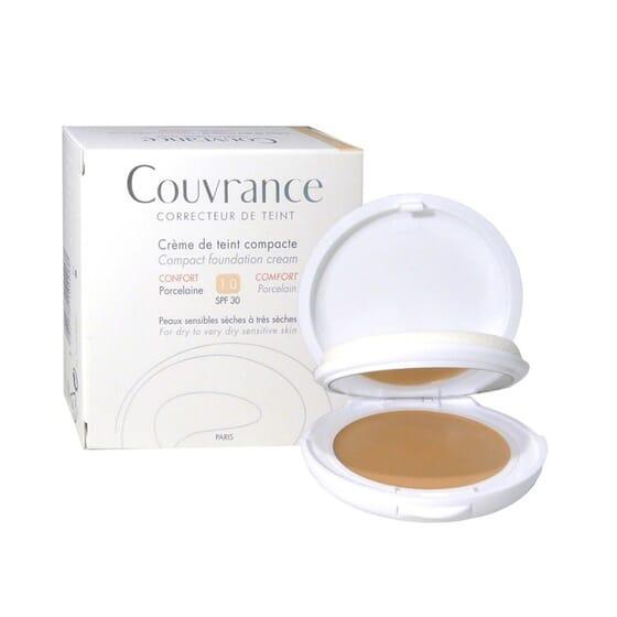 Couvrance Crema Compatta Texture Comfort - Porcellana 10g de Avene