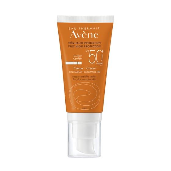 Avène Crème Très Haute Protection SPF50+ 50 ml - Peaux sensibles