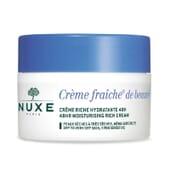 Crème Fraîche De Beauté Crema Rica Hidratante 48H 50ml de Nuxe