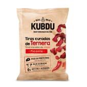 Kubdu Copeaux de Bœuf Séché Épicé 25 g - Snack protéiné