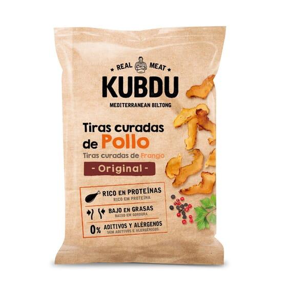 KUBDU TIRAS CURADAS DE POLLO ORIGINAL 25g