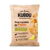 Kubdu Copeaux de Poulet Séché au Citron 25 g - Snack protéiné