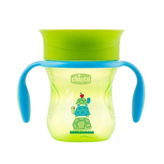 VASO PERFECT 360 VERDE 12M+ 200ml de Chicco