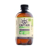 Chá Kombucha Bio-Orgánico Coconut Summer Beach 400 ml da Captain Kombucha