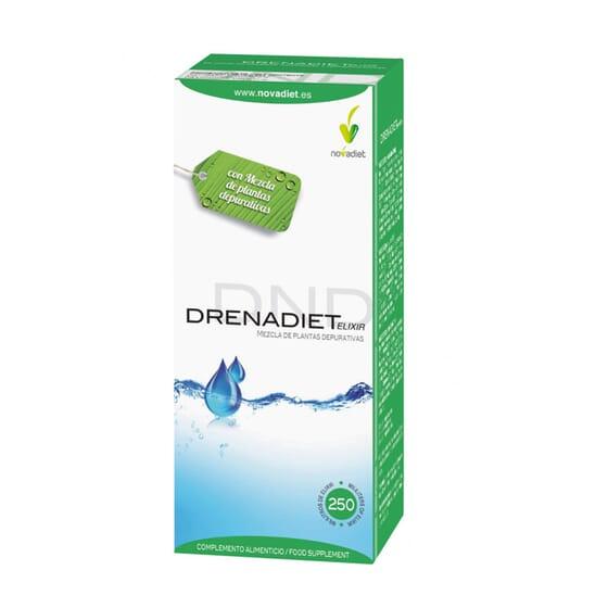 Drenadiet Elixir 250 ml - Novadiet - Rétention d'eau