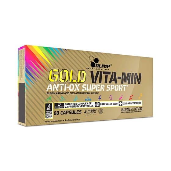 GOLD VITA-MIN ANTI-OX SUPER SPORT 60 Gélules - OLIMP
