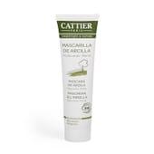 Máscara Argila Verde Pele Oleosa Bio 100 ml da Cattier