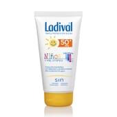 Protettore Solare Per Bambini E Pelli Atopiche SPF50+ 150 ml di Ladival