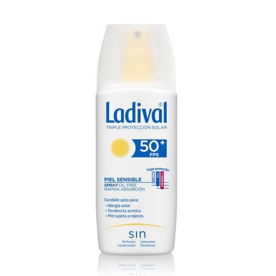 Spray Protettore Pelli Sensibili Rapido Assorbimento SPF50+ 150 ml di Ladival