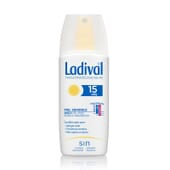 SPRAY PROTECTEUR PEAUX SENSIBLES ABSORPTION RAPIDE SPF15 150 ml de Ladival