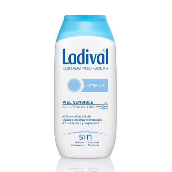 Aftersun Pelli Sensibili Gel-Crema Oil Free 200 ml di Ladival