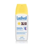 PROTECTION ET BRONZAGE SPRAY FLUIDE SPF30 150 ml de Ladival