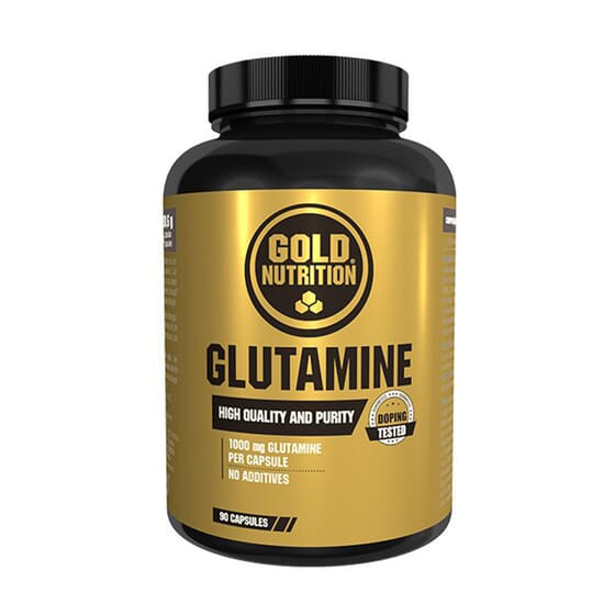 Glutamine 90 Caps de Gold Nutrition