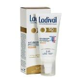 FLUIDO PROTETOR ANTIMANCHAS TOQUE SECO COM COR SPF50+ 50ml da Ladival