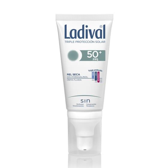 Crema Fluida Protettiva Pelli Secche SPF50+ 50 ml di Ladival