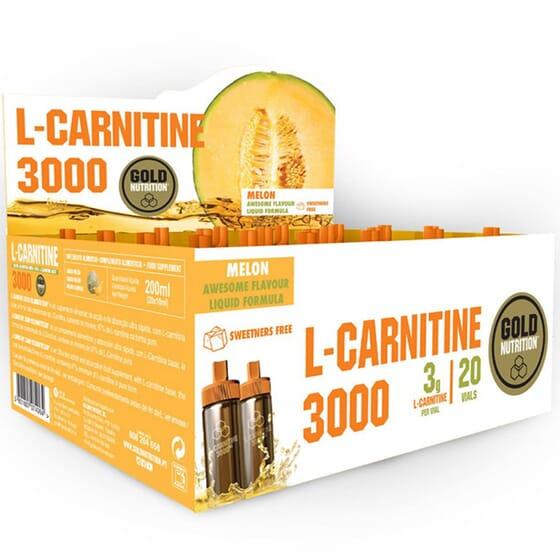 L-Carnitine 3000 - 20 x 10 ml da Gold Nutrition