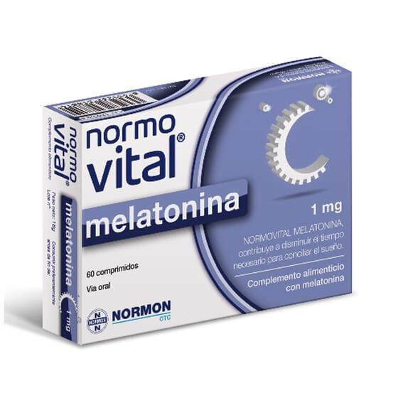 NORMOVITAL MÉLATONINE 1 mg 60 Comprimés