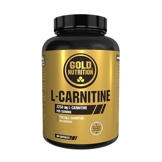 L-CARNITINE 60 Gélules - GOLD NUTRITION