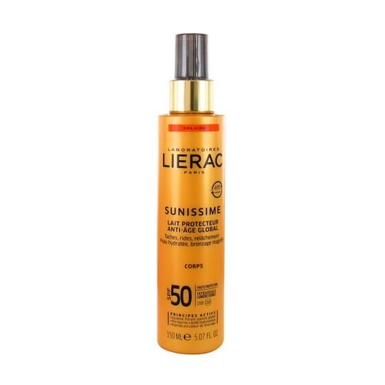 SUNISSIME LECHE CORPORAL PROTECTORA ANTIEDAD SPF50 150 ml de Lierac