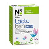 NS LACTOBEN FORTE 30 Tabletas Masticables