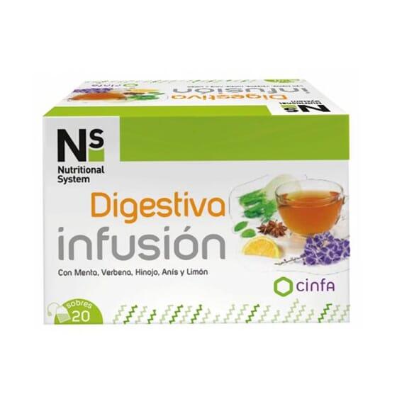 Ns Infusão Digestiva 20 Infusões da Ns