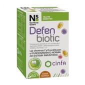 NS DEFENBIOTIC KIDS 60 Tabletas Masticables