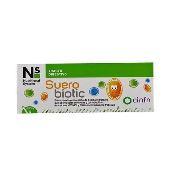 Ns Suerobiotic 6 Saquetas da Ns
