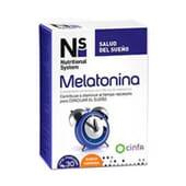 Ns Melatonina 30 Comprimidos Mastigáveis da Ns