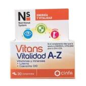 Ns/Vitans Vitalidade A-Z 30 Tabs da Ns