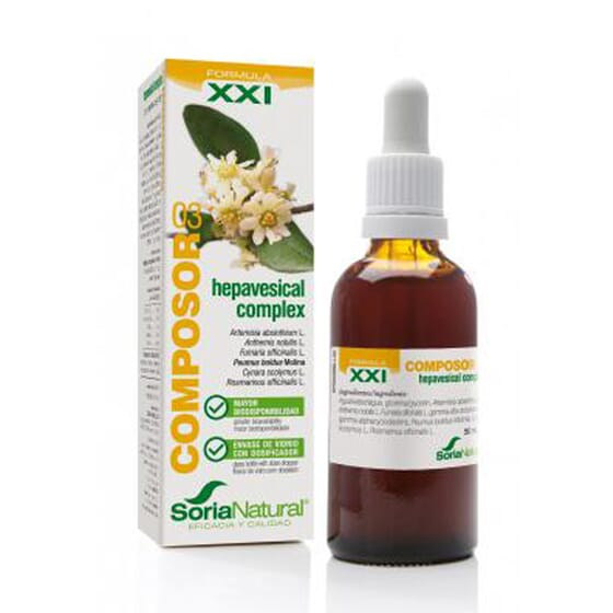 COMPOSOR 03 - HEPAVESICAL COMPLEX XXI 50ml de Soria Natural