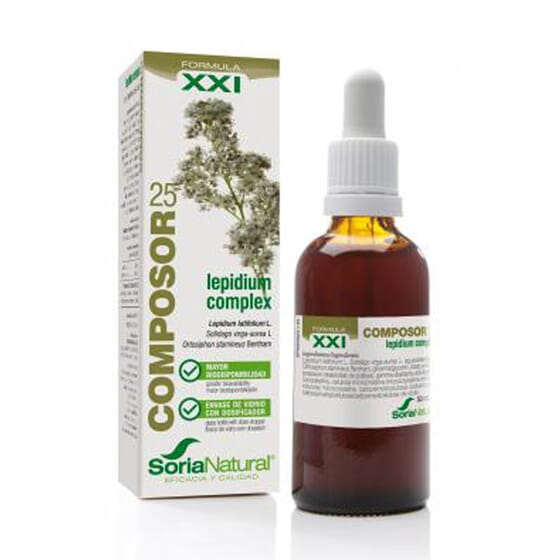 COMPOSOR 25 - LEPIDIUM COMPLEX XXI 50ml de Soria Natural