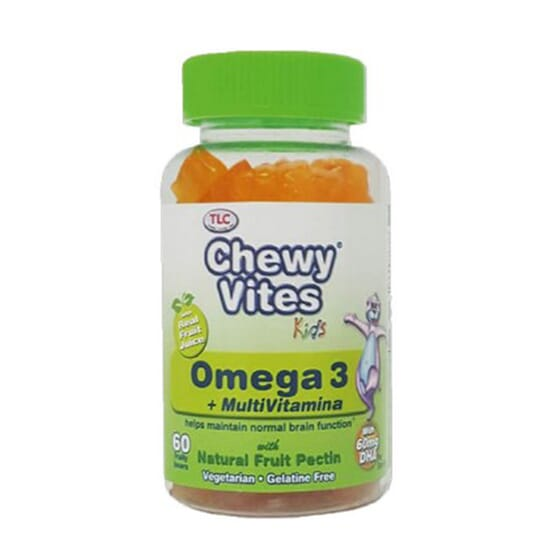 CHEWY VITES OMEGA 3 60 Unidades
