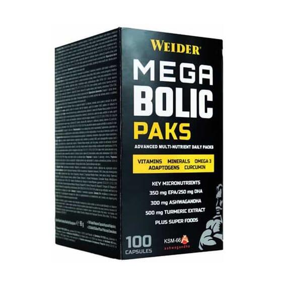 MEGABOLIC PACKS 100 Cápsulas de Weider