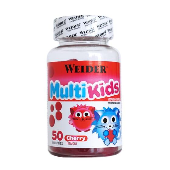 MULTI KIDS 50 Gominolas de Weider