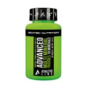 ADVANCED MULTI MINERAL 60 Tabs da Scitec Athletic Line