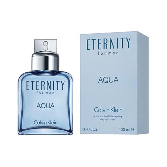 ETERNITY AQUA FOR MEN EDT VAPORIZADOR 100ml de Calvin Klein
