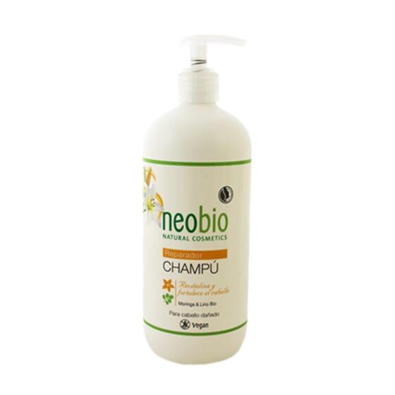 Shampoo Riparatore Moringa e Giglio Bio 500 ml di Neobio