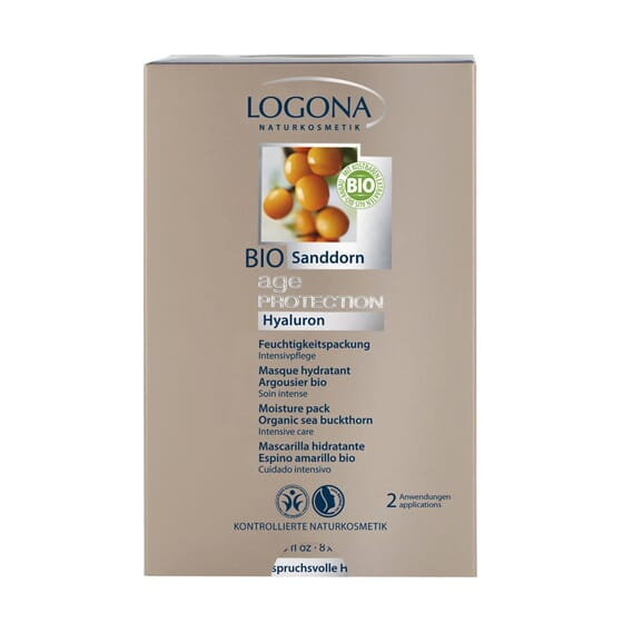AGE PROTECTION MASCARILLA HIDRATANTE 7 ml 2 Sobres de Logona
