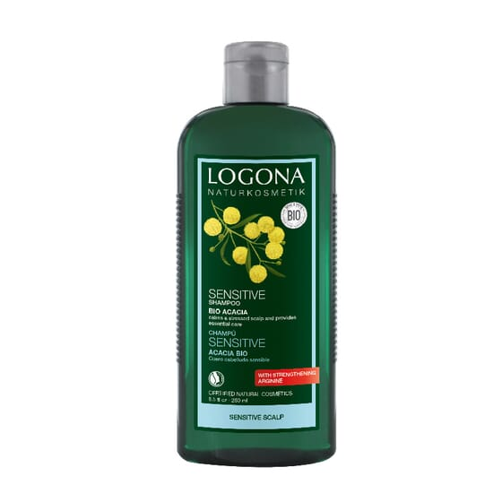CHAMPÚ SENSITIVE ACACIA BIO 250ml de Logona